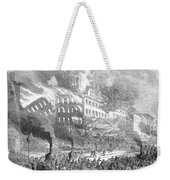 Barnums Museum Fire, 1865 Weekender Tote Bag