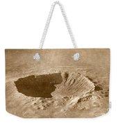 Barringer Crater Weekender Tote Bag