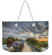Barrow Sunrise Weekender Tote Bag