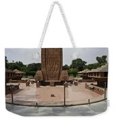 Base Of The Jallianwala Bagh Memorial In Amritsar Weekender Tote Bag