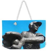 Baseball - Americas Pastime Weekender Tote Bag by Bill Cannon