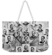 Baseball, 1894 Weekender Tote Bag