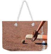baseball and Glove Weekender Tote Bag