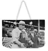 Baseball: Camera, C1911 Weekender Tote Bag
