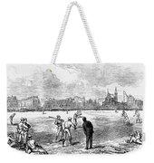 Baseball: England, 1874 Weekender Tote Bag