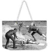 Baseball Game, 1885 Weekender Tote Bag