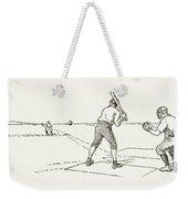Baseball Game, 1889 Weekender Tote Bag