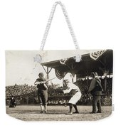 Baseball Game, 1909 Weekender Tote Bag by Granger