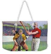 Baseball Game, C1895 Weekender Tote Bag