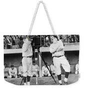 Baseball Players, 1920s Weekender Tote Bag
