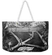 Baseball Polka, 1867 Weekender Tote Bag by Granger