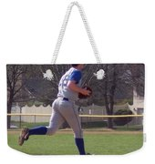 Baseball Step And Throw From Third Base Weekender Tote Bag