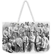 Baseball Teams, 1866 Weekender Tote Bag by Granger