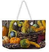Basket Full Of Gourds Weekender Tote Bag