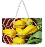 Basket Full Of Tulips Weekender Tote Bag