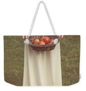 Basket With Fruits Weekender Tote Bag