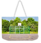 Basketball Court Weekender Tote Bag