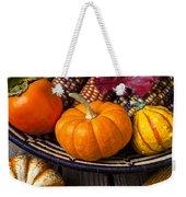 Basketful Of Autumn Weekender Tote Bag