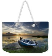 Bass Fishin' Evening Weekender Tote Bag