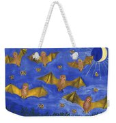 Bat People At The Pipistrelle Party Weekender Tote Bag
