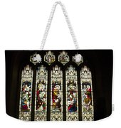 Bath Abbey Stained Glass Weekender Tote Bag