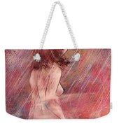 Bathing In The Rain Weekender Tote Bag