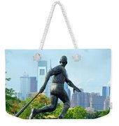 Batters City View Weekender Tote Bag by Alice Gipson
