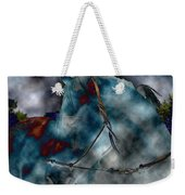 Battle Cloud - Horse Of War Weekender Tote Bag