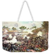 Battle Of Bull Run, 1861 Weekender Tote Bag