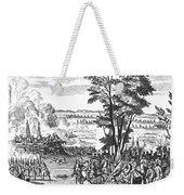 Battle Of Malplaquet, 1709 Weekender Tote Bag