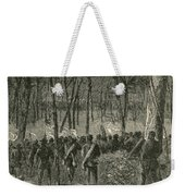 Battle Of The Wilderness, 1864 Weekender Tote Bag by Photo Researchers