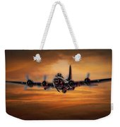 Battle Scarred But Heading Home Weekender Tote Bag