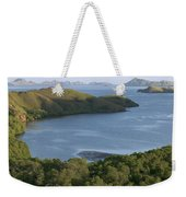 Bay And Outlying Islands Off Rinca Weekender Tote Bag