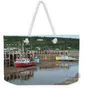 Bay Of Fundy - Low Tide Weekender Tote Bag