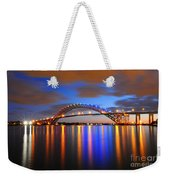 Bayonne Bridge Weekender Tote Bag by Paul Ward