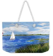 Bayville Marsh Weekender Tote Bag
