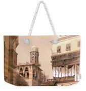 Bazaar Of The Coppersmiths Cairo Weekender Tote Bag
