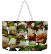 Bbq Grilled Vegetables Weekender Tote Bag