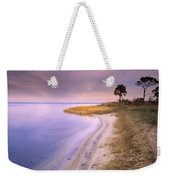 Beach Along Saint Josephs Bay Florida Weekender Tote Bag
