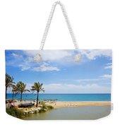 Beach And Sea On Costa Del Sol Weekender Tote Bag