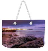 Beach At Dusk Weekender Tote Bag by Carlos Caetano