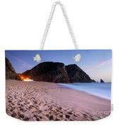 Beach At Evening Weekender Tote Bag by Carlos Caetano