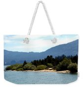 Beach Biking Lake Tahoe Weekender Tote Bag