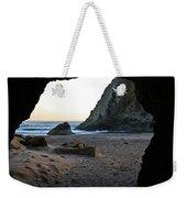 Beach Cave At Bandon Oregon Weekender Tote Bag