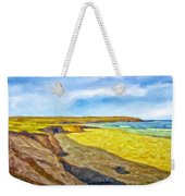 Beach Cliffs South Of San Onofre Weekender Tote Bag