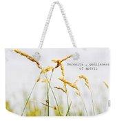 Beach Grass .serenity. Weekender Tote Bag
