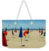 Beach In Deauville Weekender Tote Bag