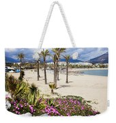 Beach In Puerto Banus Weekender Tote Bag