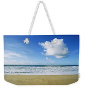 Beach, Ocean, Sky, And Clouds Weekender Tote Bag