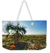 Beach Palm Morning Weekender Tote Bag
